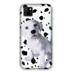 Coque pour Huawei Y5P Chien Dalmatien