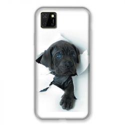 Coque pour Huawei Y5P Chien Noir