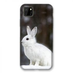 Coque pour Huawei Y5P Lapin Blanc