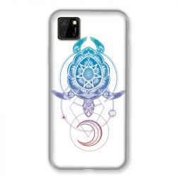Coque pour Huawei Y5P Animaux Maori Tortue Color
