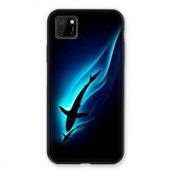 Coque pour Huawei Y5P Requin Noir