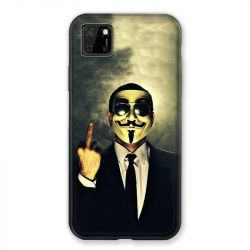 Coque pour Huawei Y5P Anonymous Doigt