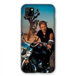Coque pour Huawei Y5P Johnny Hallyday Moto