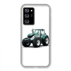 Coque pour Samsung Galaxy Note 20 Ultra Agriculture Tracteur Blanc