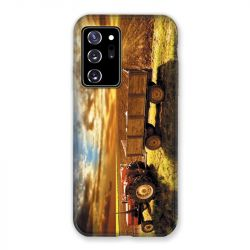 Coque pour Samsung Galaxy Note 20 Ultra Agriculture Tracteur Color