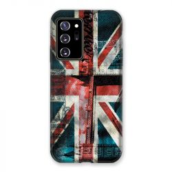 Coque pour Samsung Galaxy Note 20 Ultra Angleterre UK Jean's