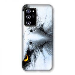 Coque pour Samsung Galaxy Note 20 Ultra Aigle Royal Blanc