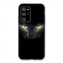 Coque pour Samsung Galaxy Note 20 Ultra Chat Noir