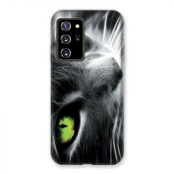 Coque pour Samsung Galaxy Note 20 Ultra Chat Vert