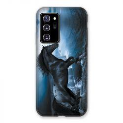 Coque pour Samsung Galaxy Note 20 Ultra Cheval Noir