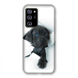 Coque pour Samsung Galaxy Note 20 Ultra Chien Noir