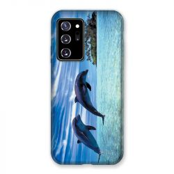 Coque pour Samsung Galaxy Note 20 Ultra Dauphin Ile