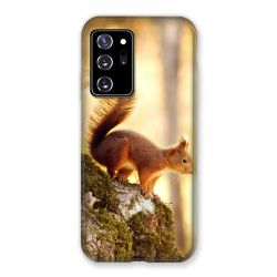 Coque pour Samsung Galaxy Note 20 Ultra Ecureuil Bois