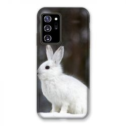 Coque pour Samsung Galaxy Note 20 Ultra Lapin Blanc