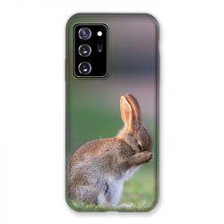 Coque pour Samsung Galaxy Note 20 Ultra Lapin Marron