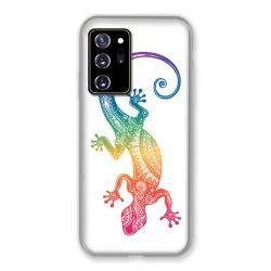 Coque pour Samsung Galaxy Note 20 Ultra Animaux Maori Salamandre Color