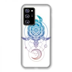 Coque pour Samsung Galaxy Note 20 Ultra Animaux Maori Tortue Color