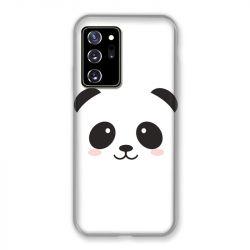 Coque pour Samsung Galaxy Note 20 Ultra Panda Blanc