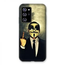 Coque pour Samsung Galaxy Note 20 Ultra Anonymous Doigt