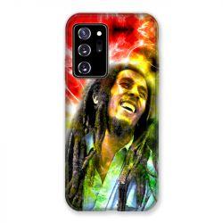 Coque pour Samsung Galaxy Note 20 Ultra Bob Marley Color