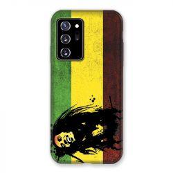 Coque pour Samsung Galaxy Note 20 Ultra Bob Marley Drapeau