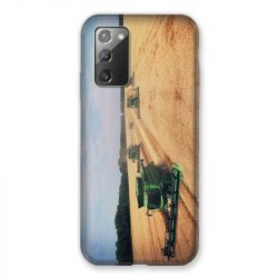 Coque pour Samsung Galaxy Note 20 Agriculture Moissonneuse