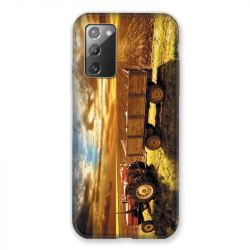 Coque pour Samsung Galaxy Note 20 Agriculture Tracteur Color