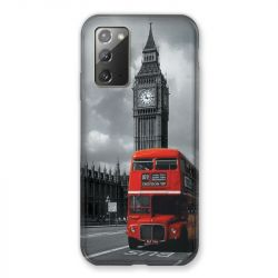 Coque pour Samsung Galaxy Note 20 Angleterre London Bus