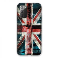 Coque pour Samsung Galaxy Note 20 Angleterre UK Jean's