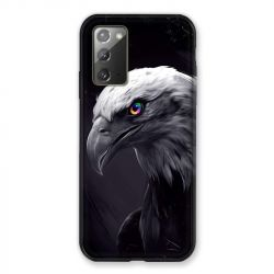 Coque pour Samsung Galaxy Note 20 Aigle Royal Noir