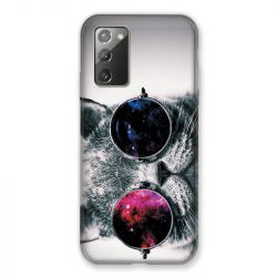 Coque pour Samsung Galaxy Note 20 Chat Fashion