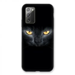 Coque pour Samsung Galaxy Note 20 Chat Noir
