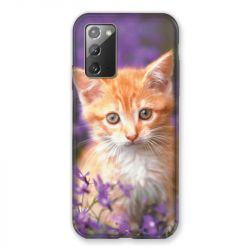 Coque pour Samsung Galaxy Note 20 Chat Violet