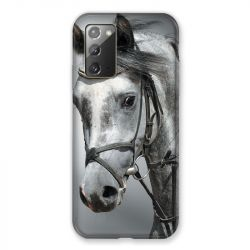 Coque pour Samsung Galaxy Note 20 Cheval Blanc