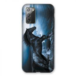 Coque pour Samsung Galaxy Note 20 Cheval Noir