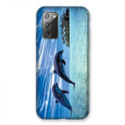 Coque pour Samsung Galaxy Note 20 Dauphin Ile
