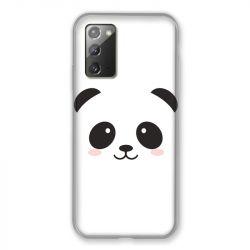 Coque pour Samsung Galaxy Note 20 Panda Blanc