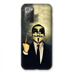 Coque pour Samsung Galaxy Note 20 Anonymous Doigt