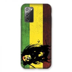 Coque pour Samsung Galaxy Note 20 Bob Marley Drapeau