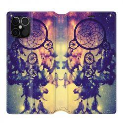 Housse cuir portefeuille pour Iphone 12 Pro Max Attrape Reve Colore
