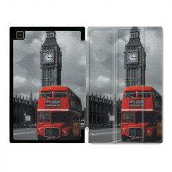 Housse Smart Cover Pour Samsung Galaxy Tab A7 (10.4) Angleterre London Bus