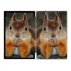 Housse Smart Cover Pour Samsung Galaxy Tab A7 (10.4) Ecureuil Face