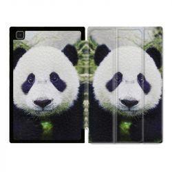 Housse Smart Cover Pour Samsung Galaxy Tab A7 (10.4) Panda Color