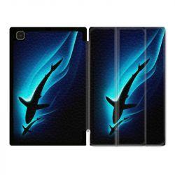 Housse Smart Cover Pour Samsung Galaxy Tab A7 (10.4) Requin Noir