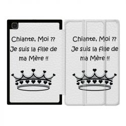 Housse Smart Cover Pour Samsung Galaxy Tab A7 (10.4) Humour Moi Chiante