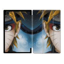 Housse Smart Cover Pour Samsung Galaxy Tab A7 (10.4) Manga Naruto Blanc