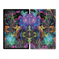 Housse Smart Cover Pour Samsung Galaxy Tab A7 (10.4) Psychedelic Colore