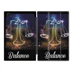 Housse Smart Cover Pour Samsung Galaxy Tab A7 (10.4) Signe Zodiaque 2 Balance