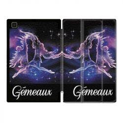Housse Smart Cover Pour Samsung Galaxy Tab A7 (10.4) Signe Zodiaque 2 Gémeaux