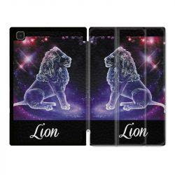 Housse Smart Cover Pour Samsung Galaxy Tab A7 (10.4) Signe Zodiaque 2 Lion